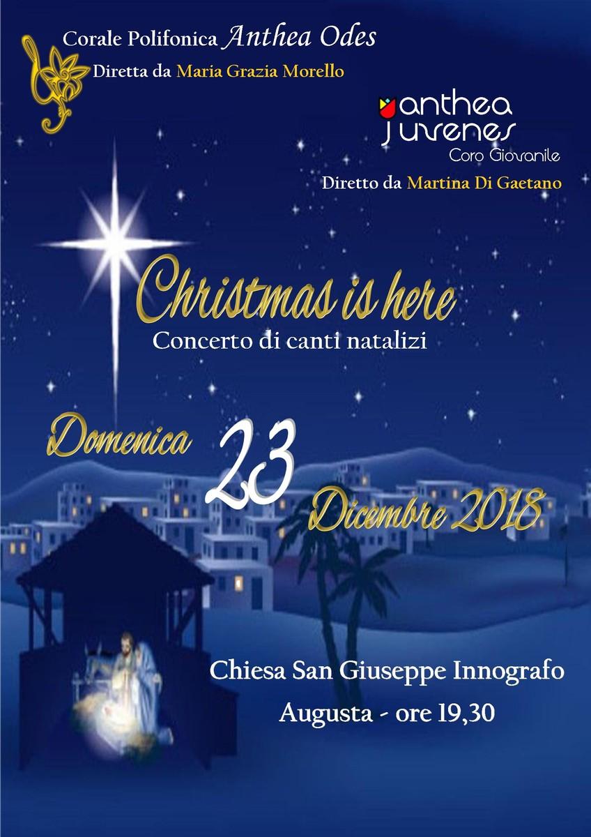 Locandina natale 2018   23 dicembre