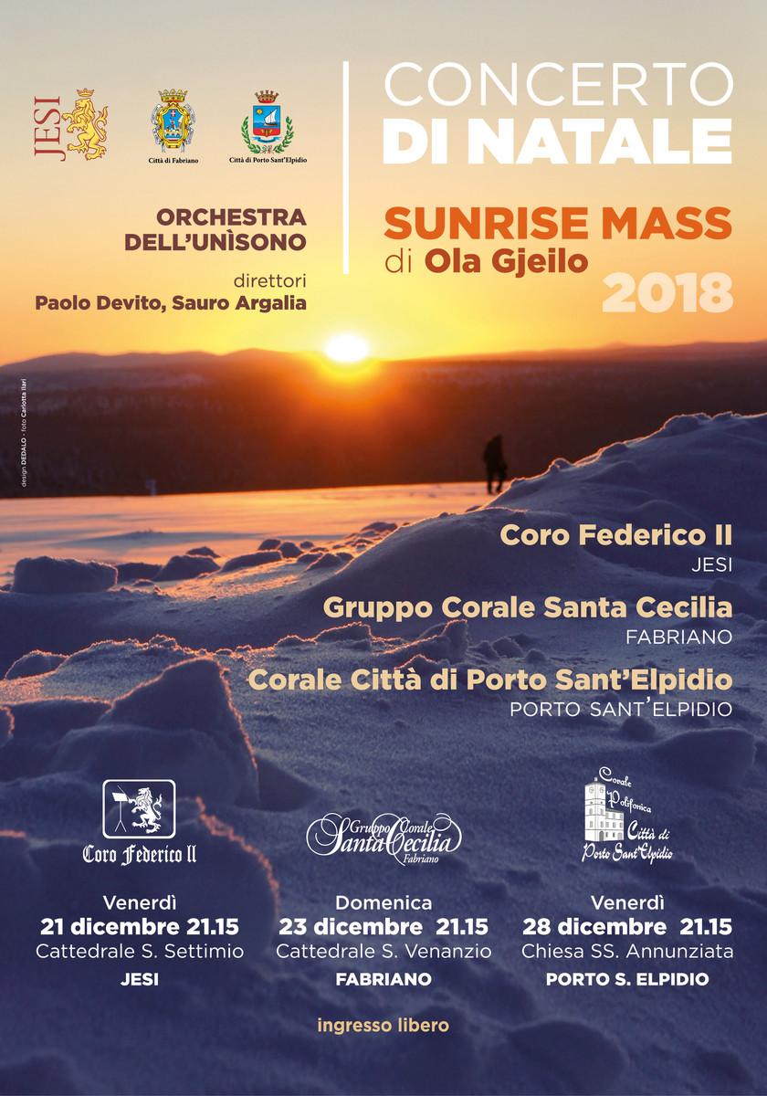 Concerto di natale 2018
