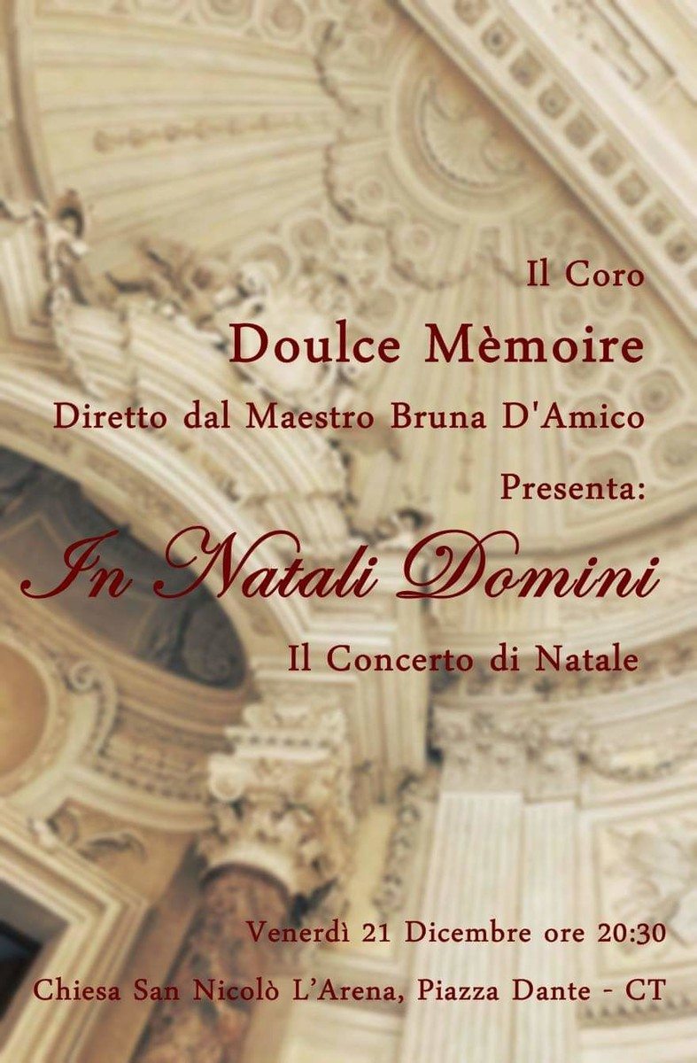Concerto natale 2018 doulce m%c3%a9moire