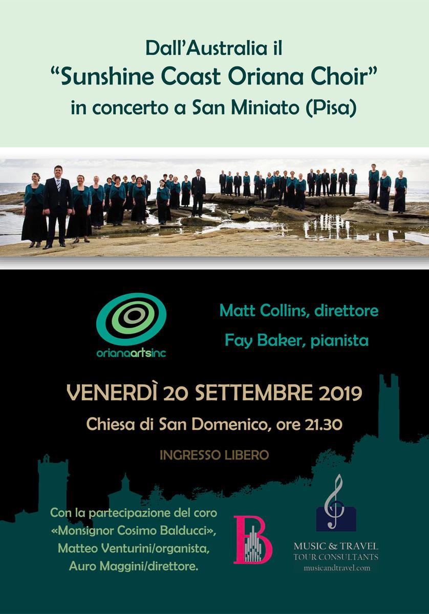 Locandina concerto 20 settembre