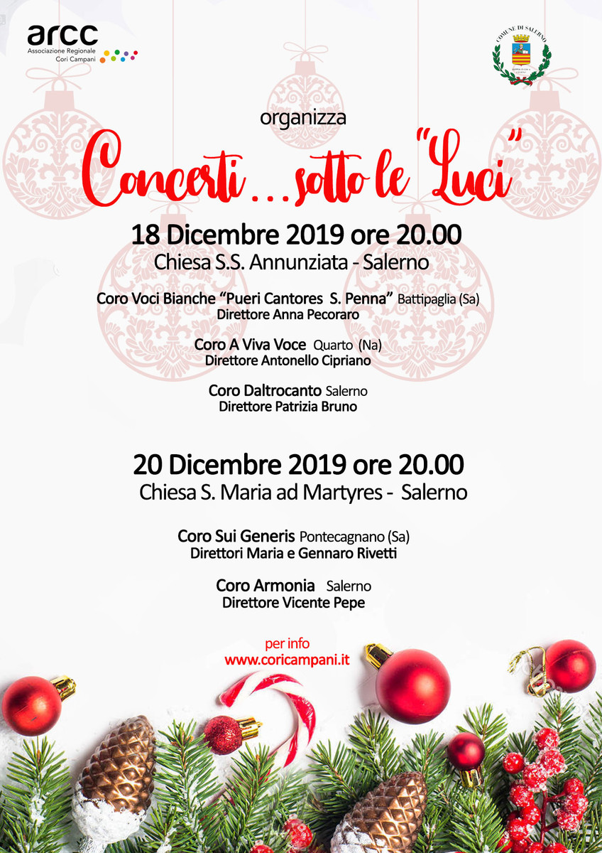 Concerti natale 2019