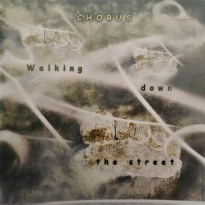 Walking down the steet   cd cover