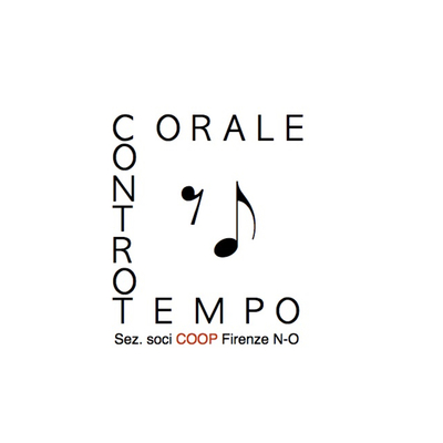 Logo corale controtempo. sez soci coop fi n o